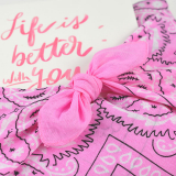 Box Surprise - Life is better with you - Bandana