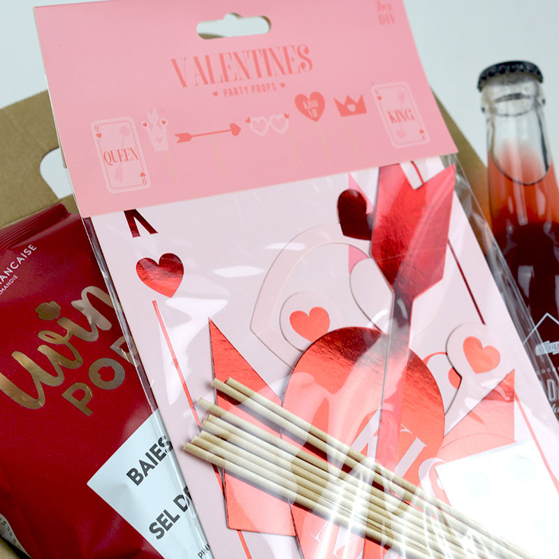 Coffret Cadeau Saint Valentin - Photobooth - The PopCase