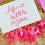 Box Surprise - Life is better with you - Guirlande