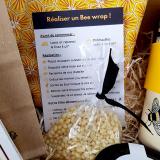 Coffret Cadeau - Bee Happy - Bee Wrap