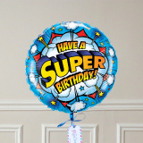 Ballon Cadeau - SUPER Birthday - GP