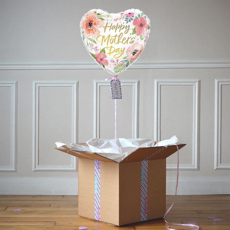 Ballon Cadeau Fête Des Mères Fleurs - The PopCase