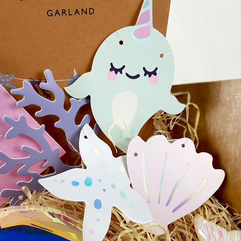 Box Surprise - Tu es Merveilleuse - Guirlande