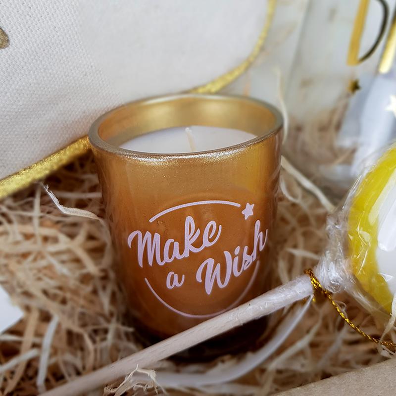Coffret cadeau - Make a wish - Bougie
