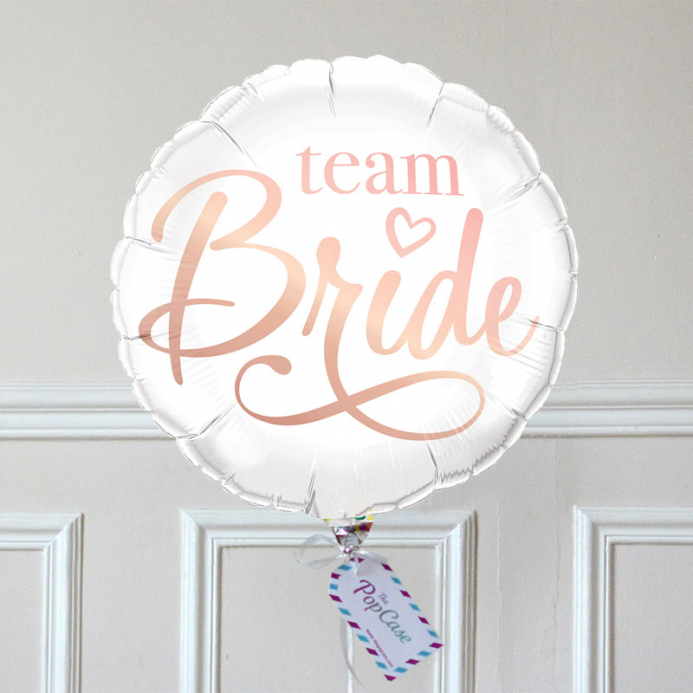 Ballon Cadeau - Team Bride - The PopCase