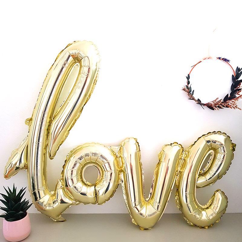 Coffret Cadeau Mariage - Ballon deco love - The PopCase