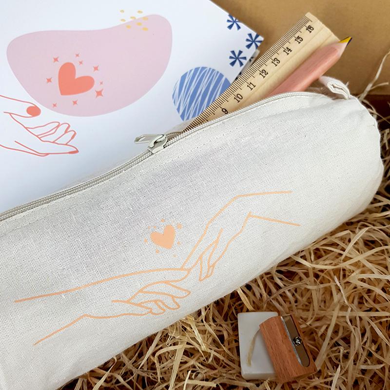 Coffret cadeau - Enjoy Your Day - Trousse et stylo - The PopCase