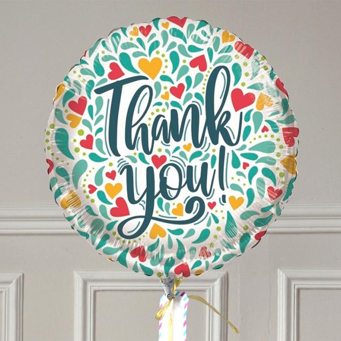 Ballon Cadeau - Merci Cœurs - The PopCase