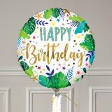 Ballon Cadeau - Happy Birthday Jungle GP - The PopCase