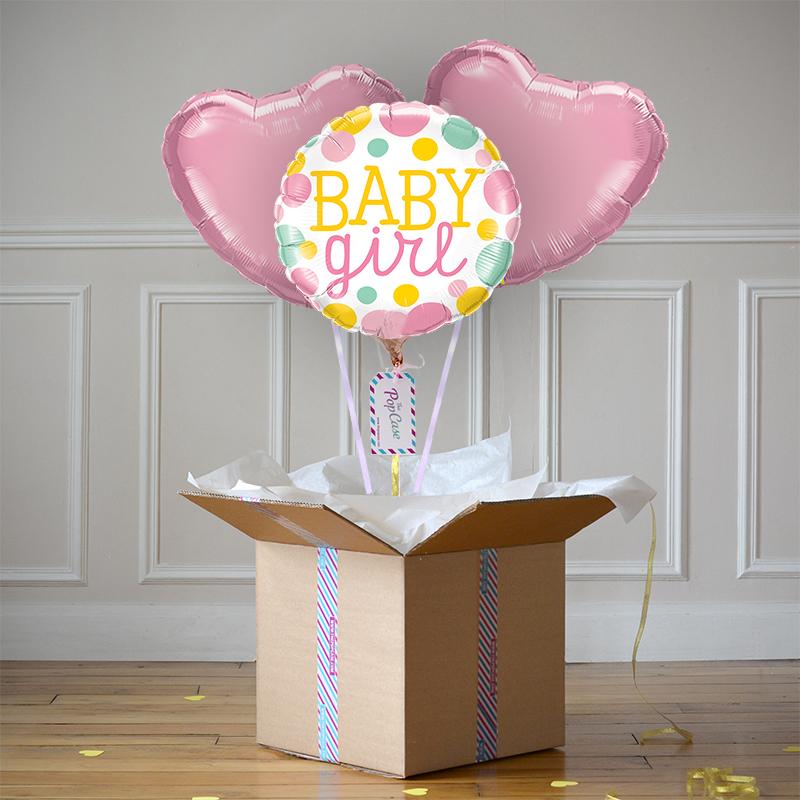 Bouquet Ballon - Gender reveal Girl - The PopCase
