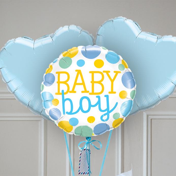 Bouquet Ballon - Gender reveal boy - The PopCase
