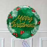 Ballon Cadeau - Merry Christmas Vert GP - The PopCase