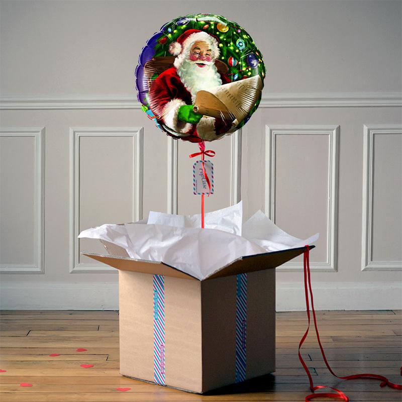 Ballon Cadeau - Père Noël - The PopCase