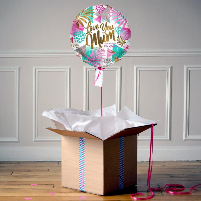 Ballon Cadeau - Love You Mum