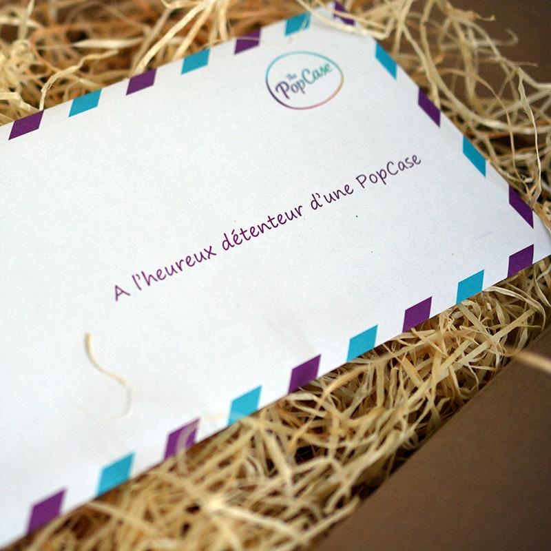 Coffret cadeau grand-père - lettre