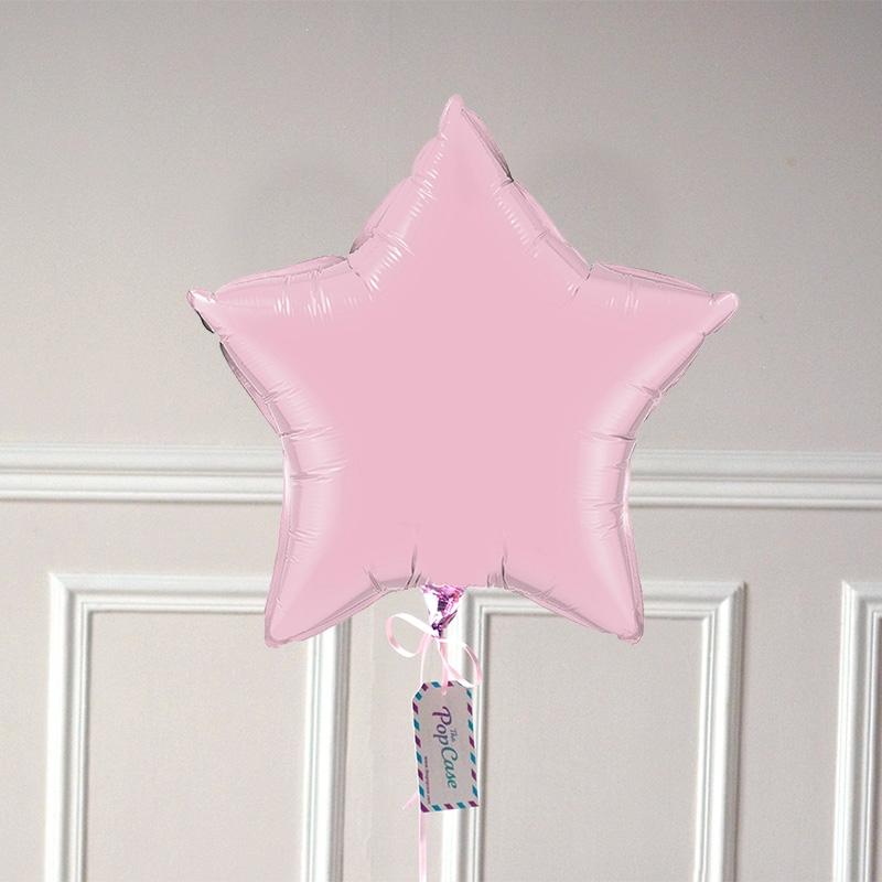 Ballon Cadeau Etoile Rose Pastel - GP - ThePopCase