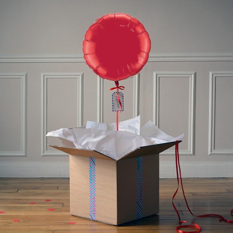 Ballon Cadeau Rouge - @ThePopCase