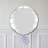 Ballon Cadeau Rond Argent - GP - ThePopCase