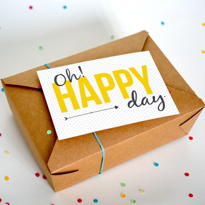 Box - Happy Day - @ThePopCase