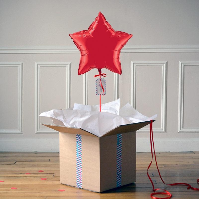Ballon Cadeau - Etoile Rouge @ThePopCase