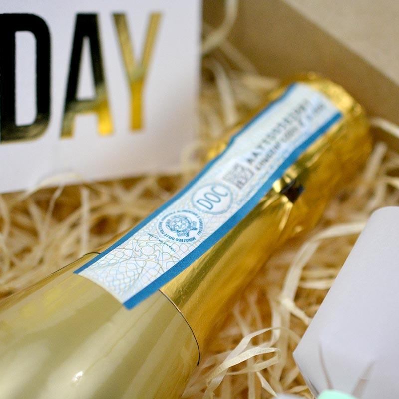 Box - Happy Birthday - Prosecco - The PopCase