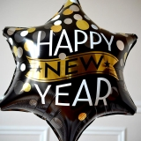Ballon Happy New Year Etoile GP