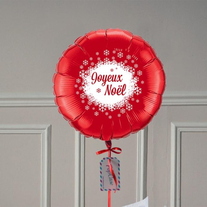 Ballon Cadeau - Joyeux Noël