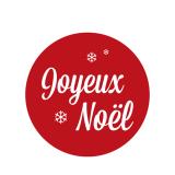 Stickers Coffret Cadeau Joyeux Noël