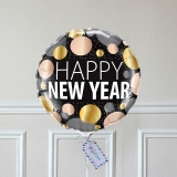 Ballon Cadeau - Happy New Year - 3 ors - GP