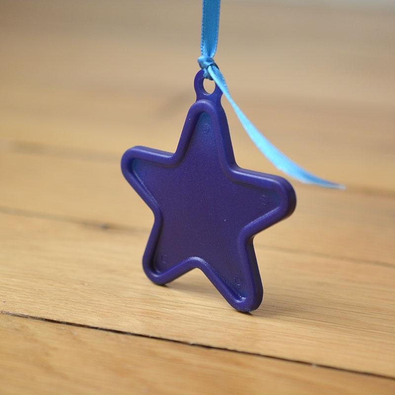 Ballon Cadeau Etoile Bleue Nuit - Poids- The PopCase