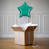 Ballon Cadeau - Etoile Verte