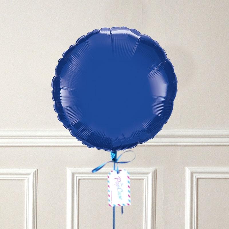 Ballon Cadeau Rond Bleu Nuit - GP - The PopCase