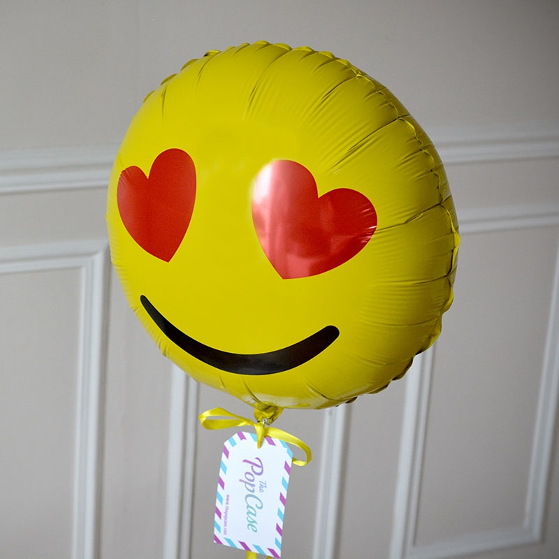 Ballon Cadeau - Emoji Love - GP