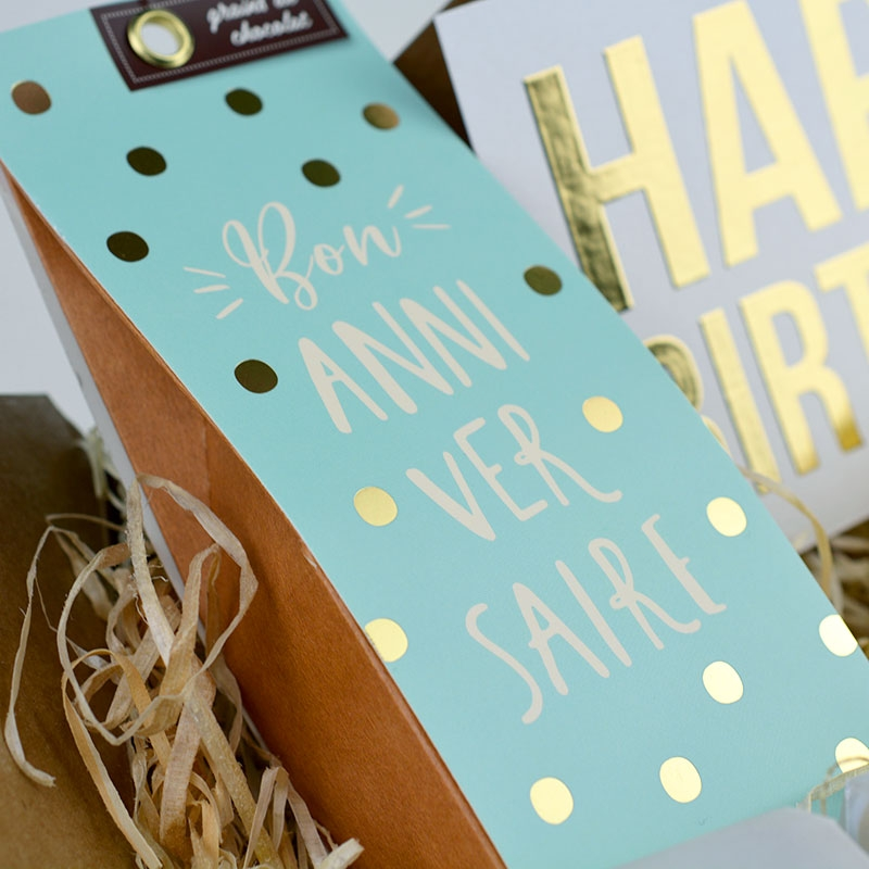 Box - Happy Birthday - Chocolat - The PopCase