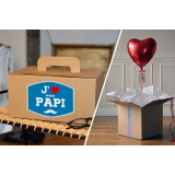 Combo Coffret Papy + Coeur Rouge