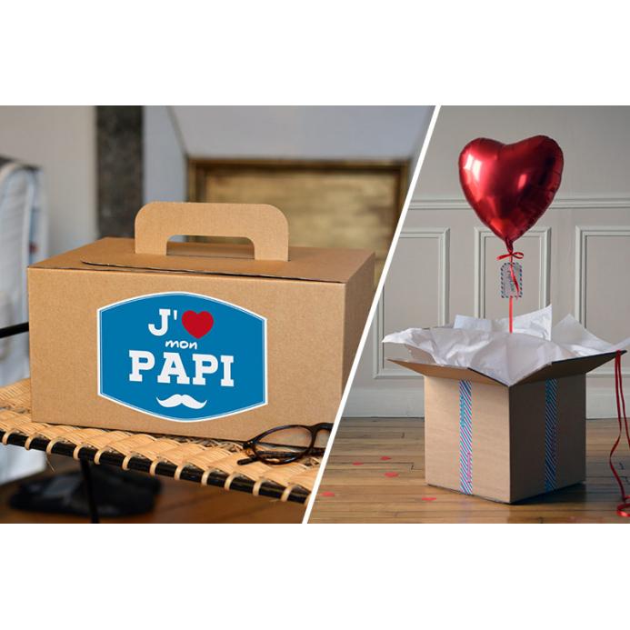 Combo Coffret Papy + Coeur Rouge