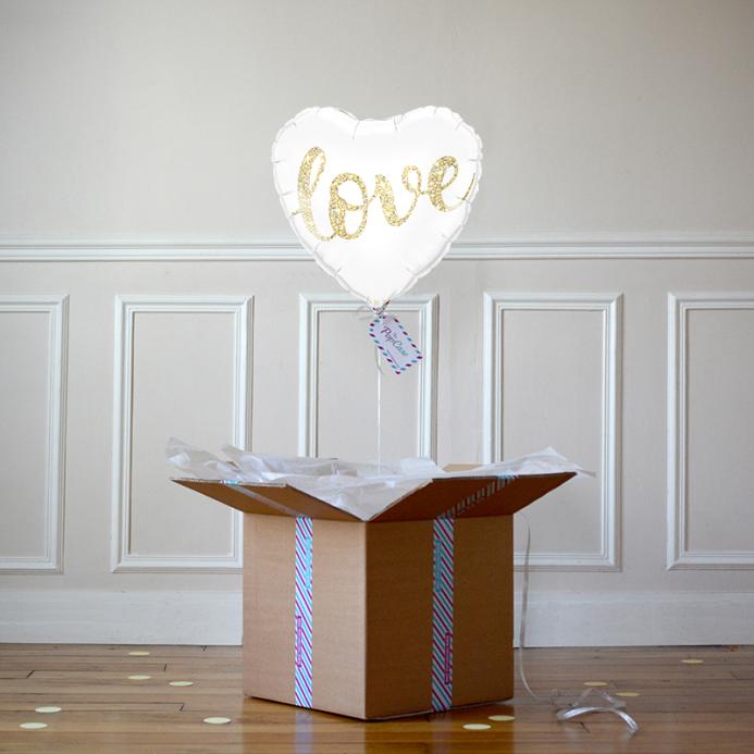Ballon Cadeau Coeur Love - The PopCase