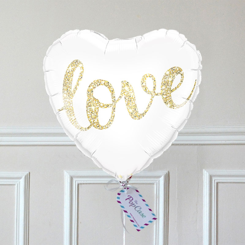 Ballon Cadeau Coeur Love - GP - The PopCase