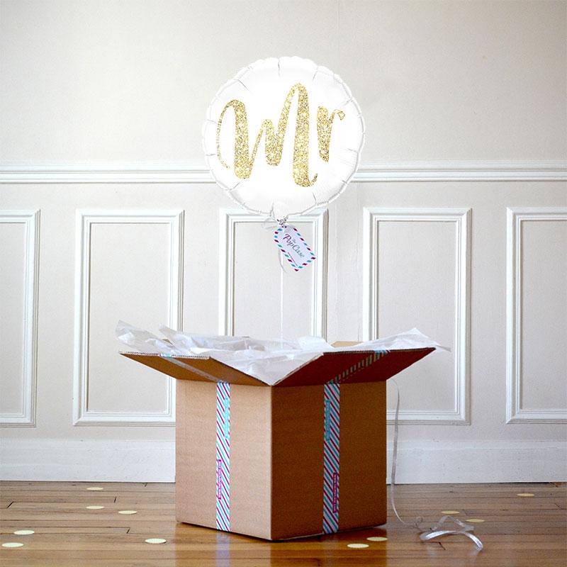 Ballon Cadeau Mr - The PopCase
