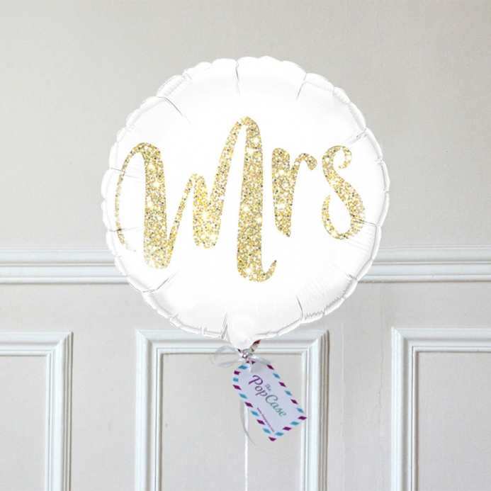 Ballon Cadeau Mrs - The PopCase