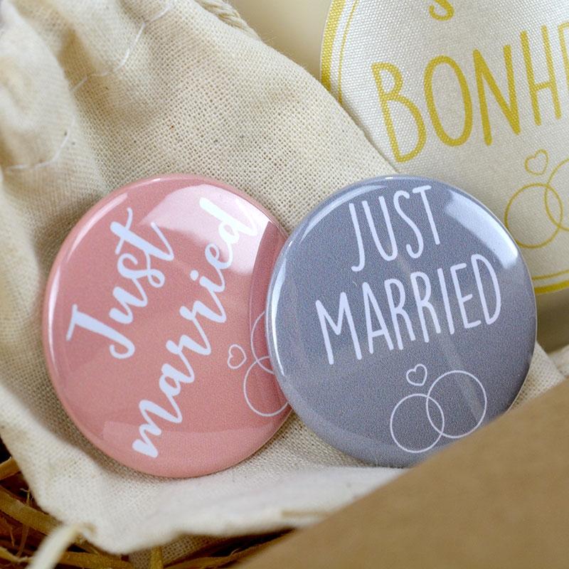 Coffret Cadeau Mariage - Badges - The PopCase