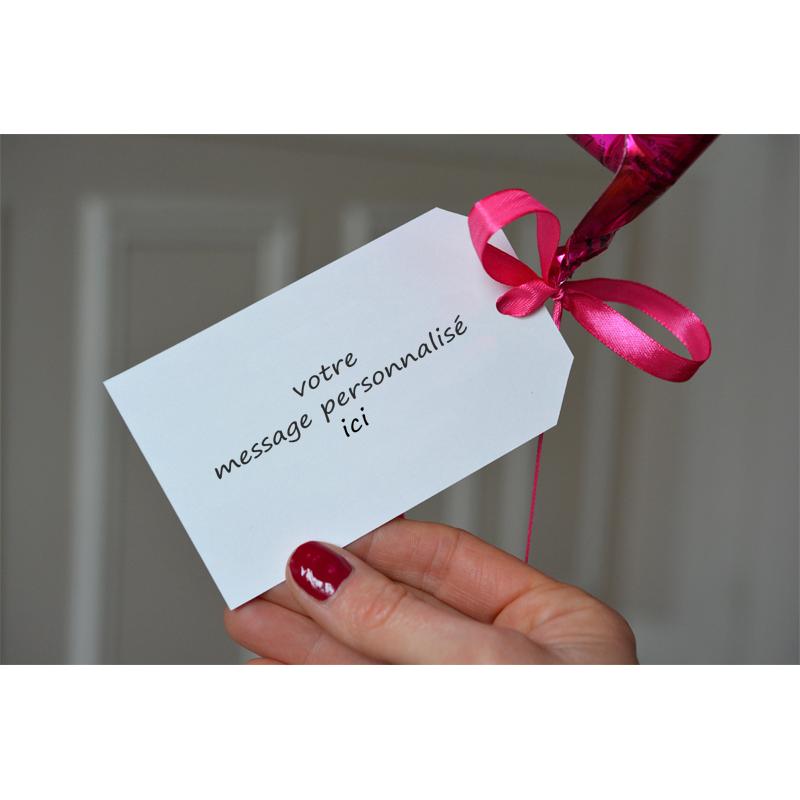 Combo Carte Best Friend Forevrer + Ballon Coeur Rose