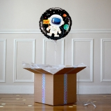 Ballon Cadeau Happy Birthday Cosmonaute - Verso - The PopCase