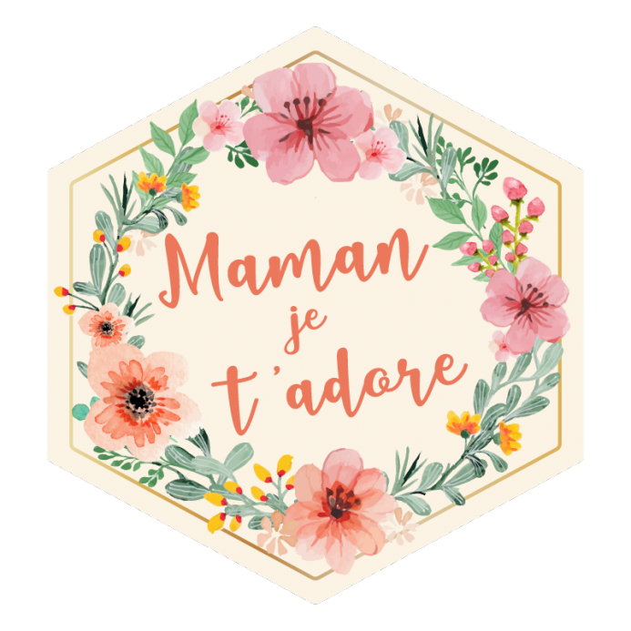 Coffret Maman Je t'adore - The PopCase
