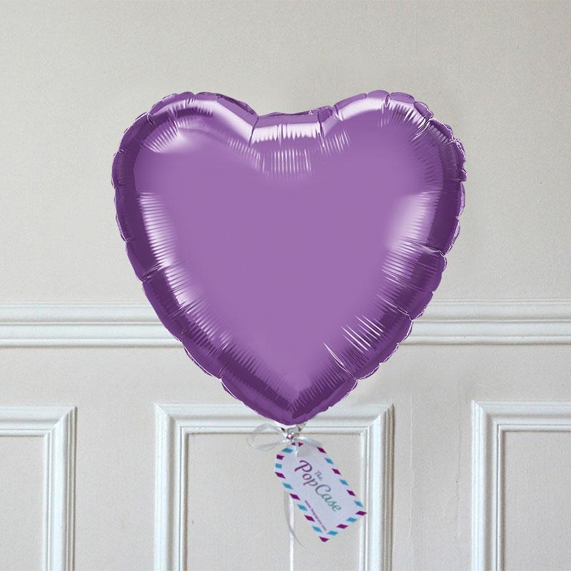 Ballon Cadeau - Cœur Violet GP - The PopCase