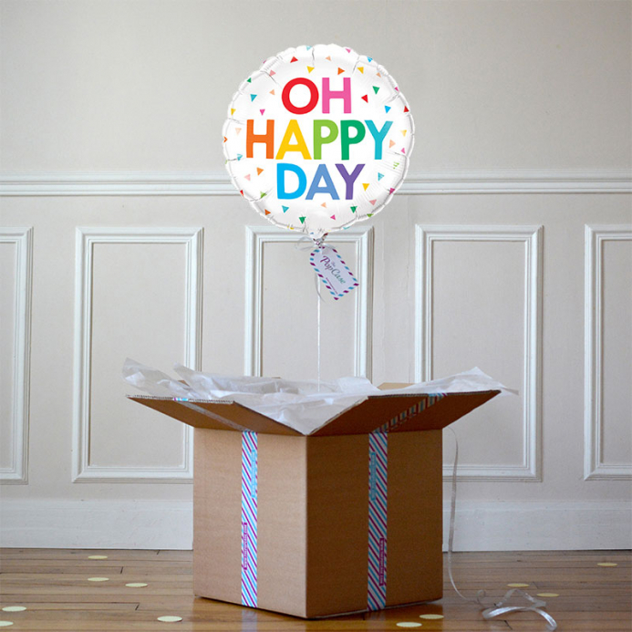 Ballon Cadeau - Ho Happy Day
