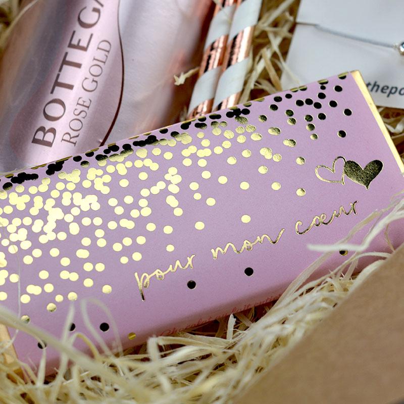 Box - Cadeau Saint Valentin - Chocolat