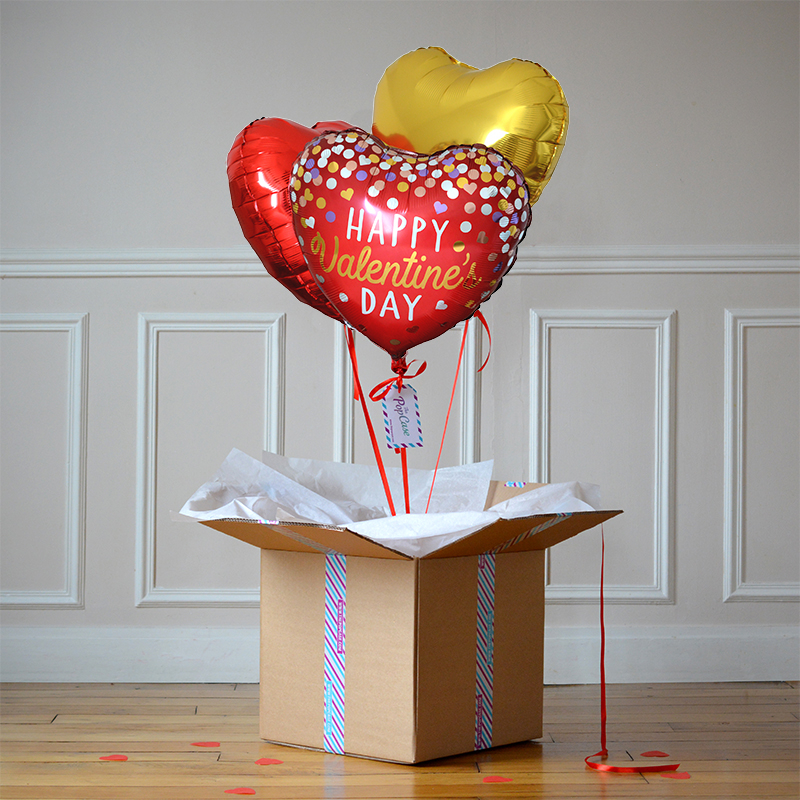 Bouquet Ballon Saint Valentin - The PopCase