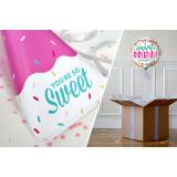 Combo Pochette You're So Sweet + Ballon Anniversaire