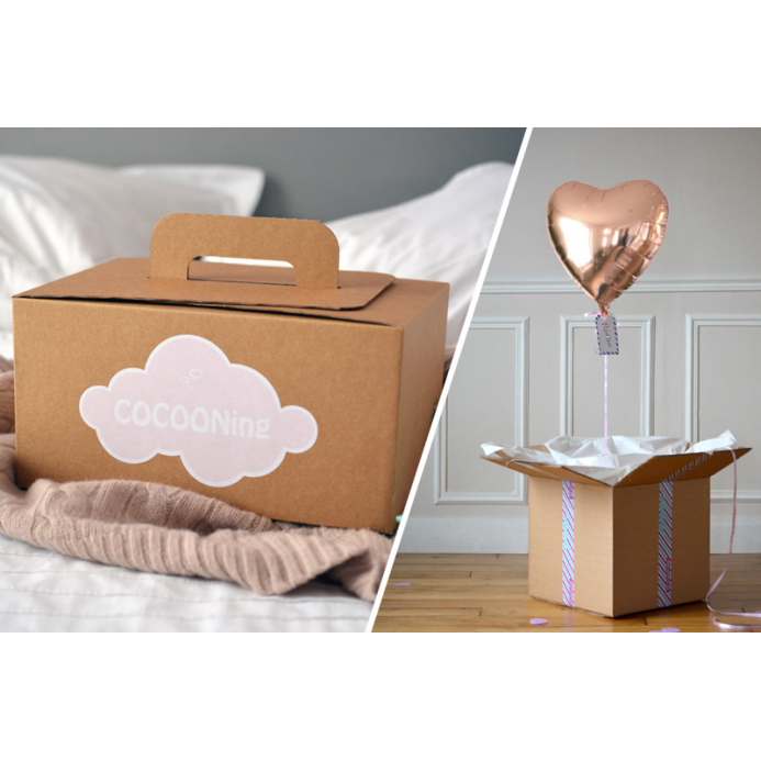 Combo Cocooning + Coeur Rose Gold
